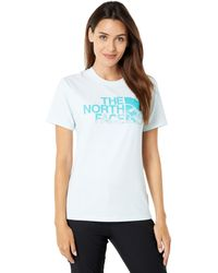 The North Face - Short Sleeve Logo Play Tee - Lyst