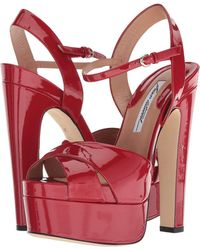 Brian Atwood - Madison (red Patent) Women's Shoes - Lyst