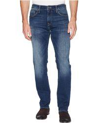 Mavi Jeans - Zach Regular Rise Straight Leg In Dark Blue Williamsburg - Lyst