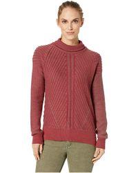 Prana - Sentiment Sweater (khaki Rose) Women's Sweater - Lyst