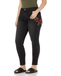 FIND Slim Fit Mid Rise Jeans - Black