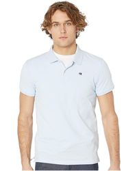 Scotch /& Soda Mens Polo in Neps Pique Quality with Jacquard Rib Collar 145553