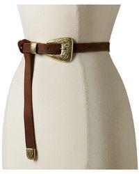 Leatherock - 1790 (dark Walnut) Women's Belts - Lyst