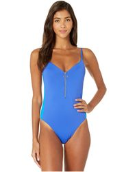 The Bikini Lab On The Block One-piece Swimsuit - Blue