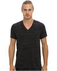 Alternative Apparel - Boss V-neck Tee (eco Grey) Men's Short Sleeve Pullover - Lyst