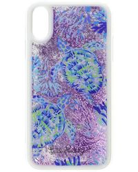 Lilly Pulitzer Glitterbomb Iphone Xr Case - Blue