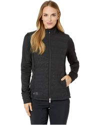 adidas Originals - Quilted Jacket (black/core Heather) Women's Coat - Lyst