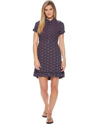 Mountain Khakis - Wildflower Dress (linen Print) Women's Dress - Lyst