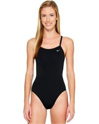 Nike | Solid Poly Lingerie Tank One Piece | Lyst