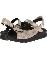 Wolky - Pichu (ocean) Women's Sandals - Lyst