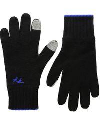 Rag & Bone - Yorke Cashmere Gloves (black) Extreme Cold Weather Gloves - Lyst