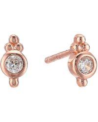 Shashi | Ballerina Stud Earrings | Lyst