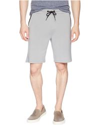 Threads For Thought - Feather Fleece Drawstring Shorts (black) Men's Shorts - Lyst