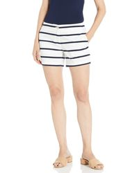 Nautica Comfort Tailored Stretch Cotton Solid And Novelty Short - Blue