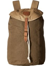 Fjallraven - Greenland Backpack Small (khaki/sand) Backpack Bags - Lyst
