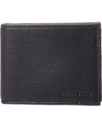 Perry Ellis Portfolio - Full Grain Glazed Finish Rfid Passcase Wallet (black) Wallet Handbags - Lyst