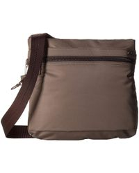 Hedgren Faith Rfid Crossbody With Safety Hook - Brown