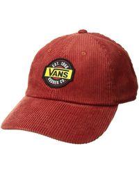 9455d08d1a4 Vans - Summit Court Side Hat (bossa Nova) Baseball Caps - Lyst