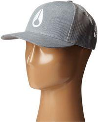 Nixon - Iconed Trucker Hat - Lyst