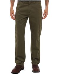 Carhartt Washed Twill Dungaree - Green