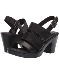 Born - Warner (brown Full Grain Leather) Women's Sandals - Lyst
