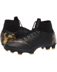 Lyst - Nike Superfly 6 Pro Fg (dark Grey black opti Yellow) Men s ... 32d2dbf325843