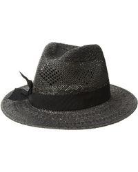 Lauren by Ralph Lauren - Pointelle Fedora With Bow Hat - Lyst