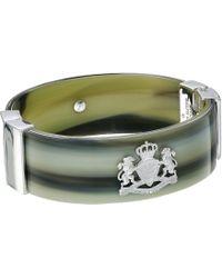 Lauren by Ralph Lauren - Horn Crest Bangle Bracelet (silver) Bracelet - Lyst