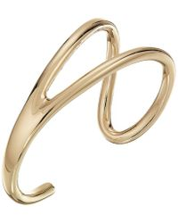 French Connection - Open Cuff Bracelet - Lyst