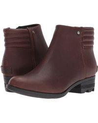 Sorel - Danica Short (tobacco/british Tan) Women's Waterproof Boots - Lyst