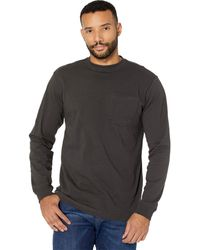 Filson Long Sleeve Outfitter One-pocket T-shirt - Gray