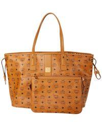MCM Shopper Project Visetos Shopper Large - Brown