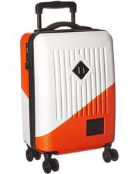 Herschel Supply Co. - Trade Power Carry-on (white/vermillion Orange) Carry On Luggage - Lyst