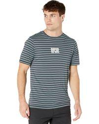 Rip Curl - Mind Wave Stripe Short Sleeve Uv Tee - Lyst