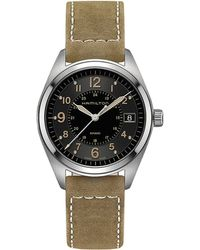 Hamilton - Khaki Field - H68551833 (black) Watches - Lyst