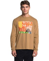 The North Face Rogue Graphic Long Sleeve Tee - Brown