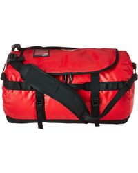The North Face Base Camp Duffel - Small Duffel Bags - Red