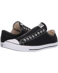 e426df43b028 Lyst - Converse Men S Chuck Taylor Ox Washed Canvas Casual Sneakers ...