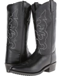 Old West Boots - Tbm3010 (black) Cowboy Boots - Lyst