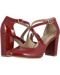 8fd456959d Walking Cradles - Mariah (nude Patent Leather) High Heels - Lyst