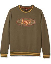 Lugz Icon Crew Neck Fleece - Green