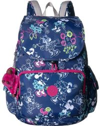 Kipling Minnie Citypack Backpack - Blue