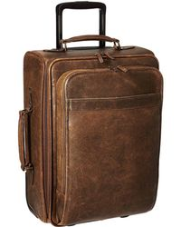 Scully Squadron Wheeled Carry-on - Brown