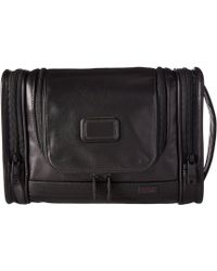 Tumi | Alpha 2 - Hanging Leather Travel Kit | Lyst