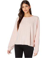 Billabong Carried Away Fleece Blush Sm - Pink