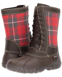 Baffin - St. Claire (brown Plaid) Women's Boots - Lyst