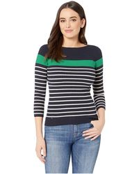0db3d686f89c5 Lauren by Ralph Lauren - Cotton-blend Boat Neck Sweater (mascarpone  Cream lipstick