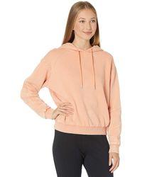 Blank NYC Acid Garment Dye Hooded Sweatshirt - Orange
