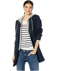 Sam Edelman 3/4 Ponte W/ Sweatshirt Detail (navy) Clothing - Blue