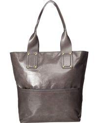 Hobo - Pillar (graphite) Tote Handbags - Lyst